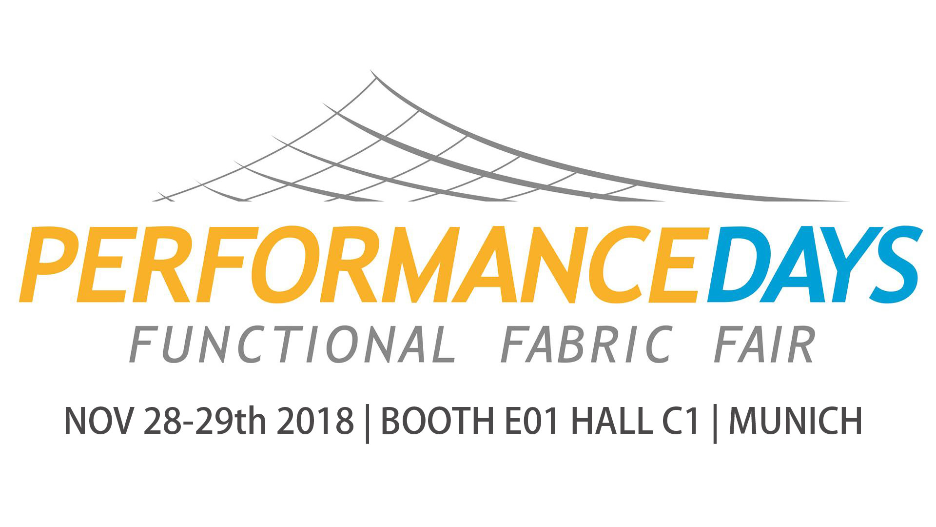 FUNCTIONAL FABRIC SHOW- PERFORMANCE DAYS MUNICH NOV 28-29th 2018